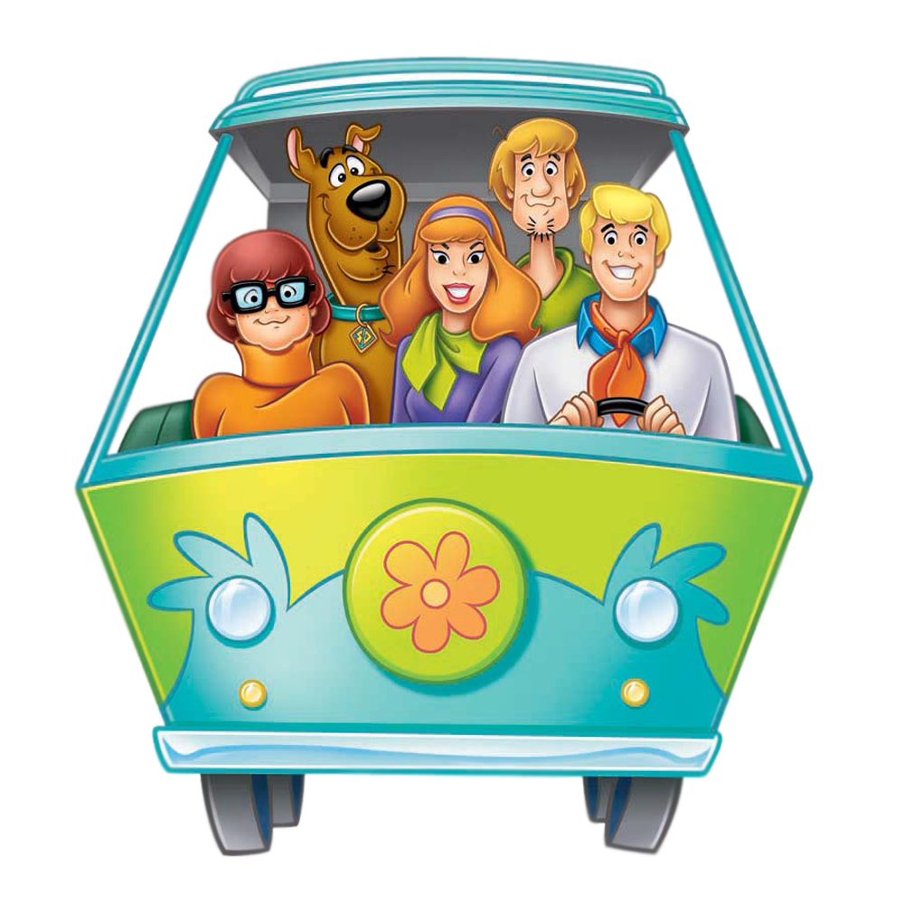 Scooby doo clipart printable. Mystery machine google search