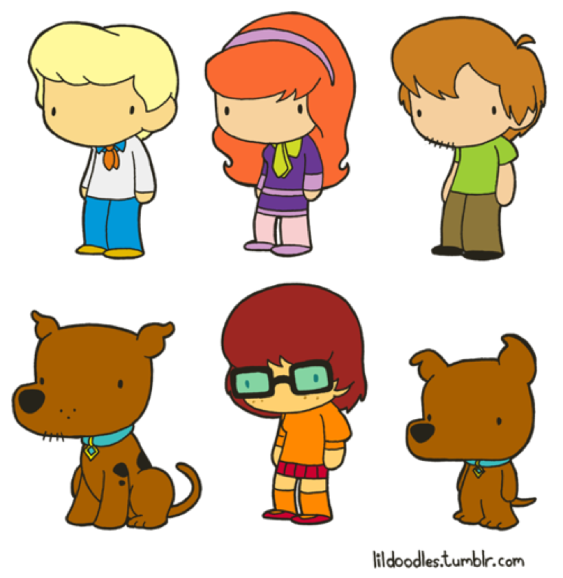 scooby doo clipart rogers