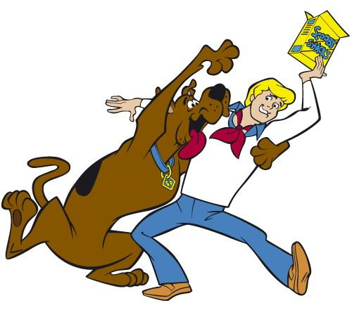 Scooby doo clipart scooby snack. Wants his freddie free