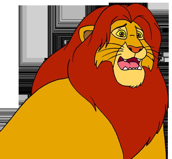 Scooby doo clipart simba. Scared by lionkingrulez on