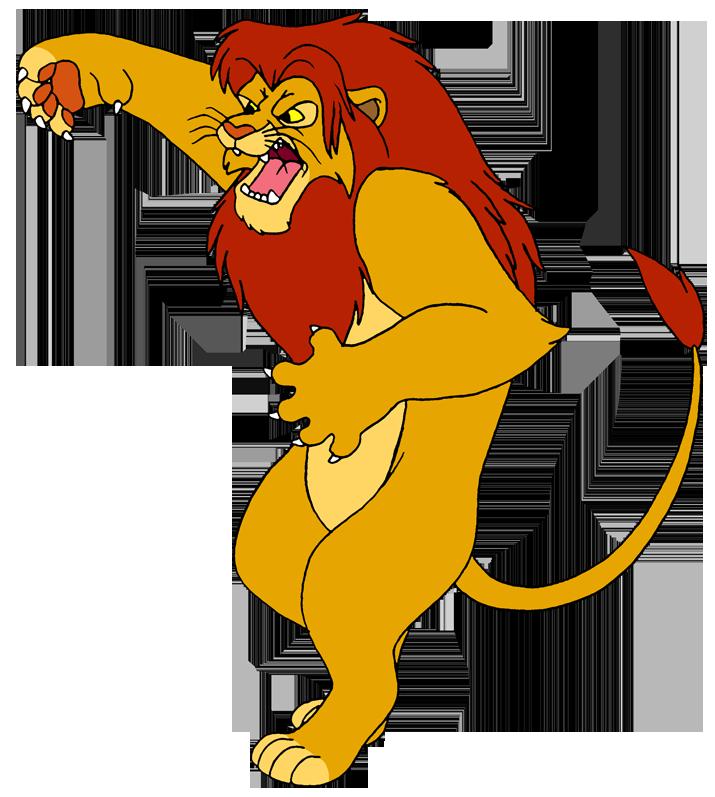 Fighting by lionkingrulez on. Scooby doo clipart simba