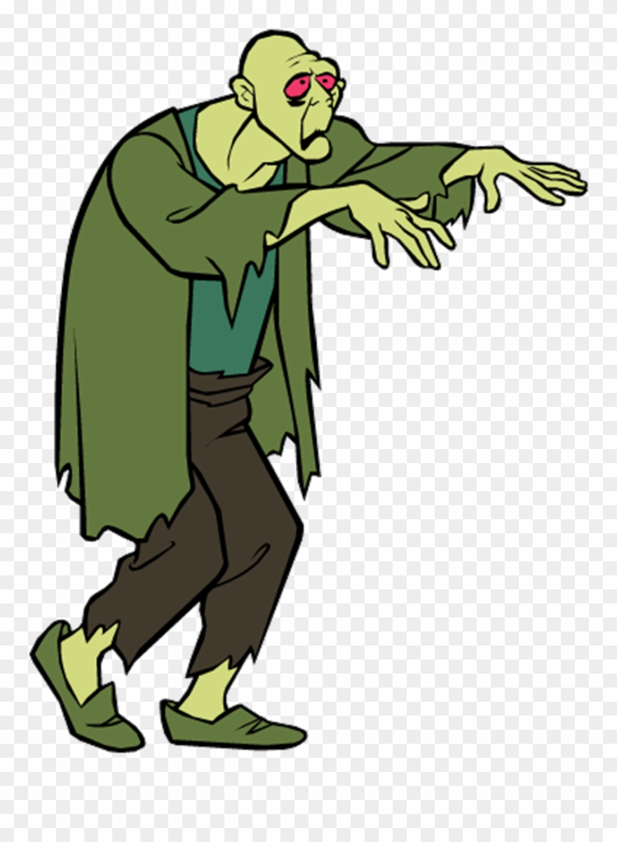 Scooby doo clipart villain. The zombie from which