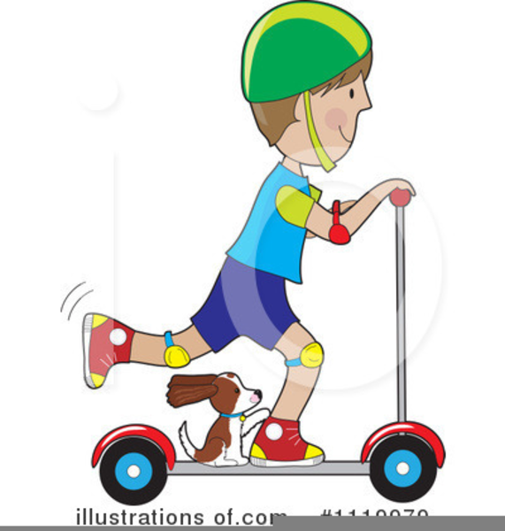 Free cartoon images at. Scooter clipart