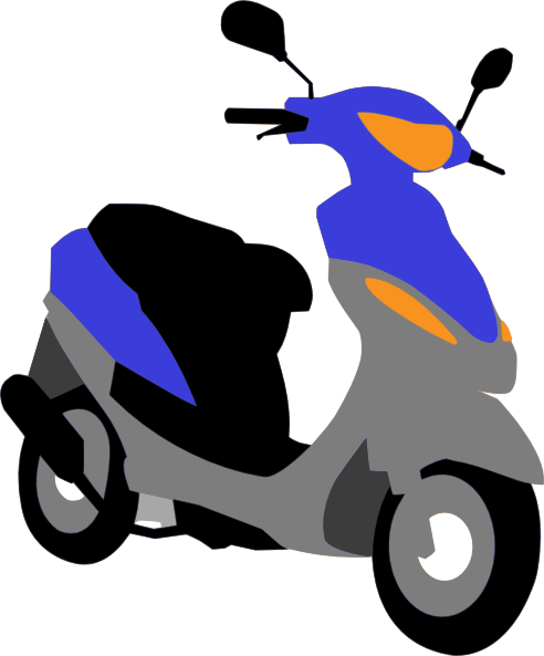 Scooter clipart.