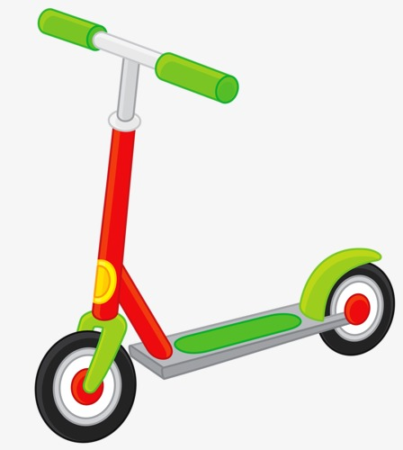 Scooter clipart. Transportation toy car png