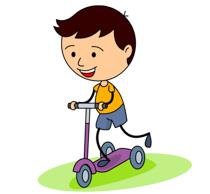 Search results for clip. Scooter clipart
