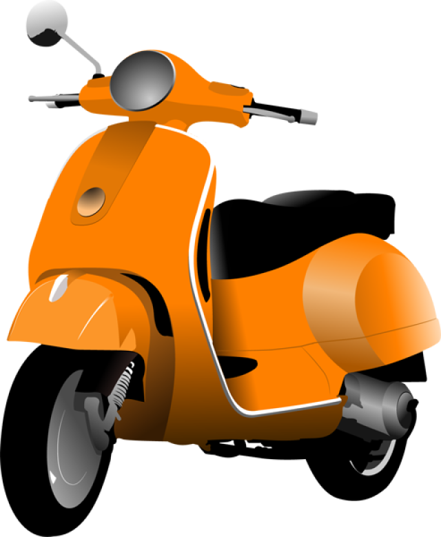 Scooter clipart. Motor pinterest scooters and