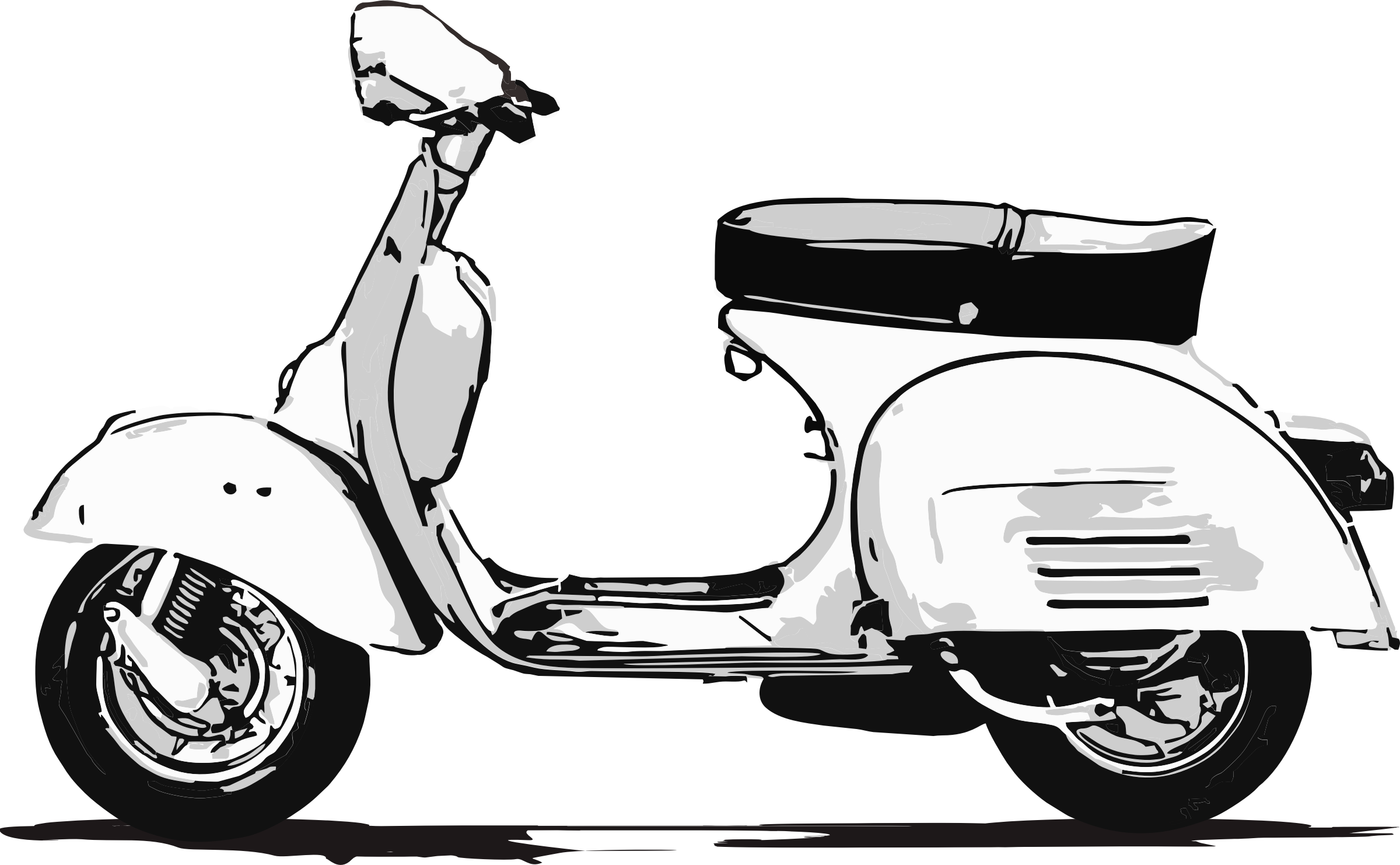 Collection of free cliparts. Scooter clipart animated