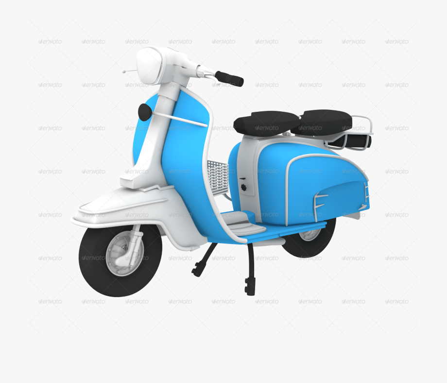 Scooter clipart blue object. D images png cliparts