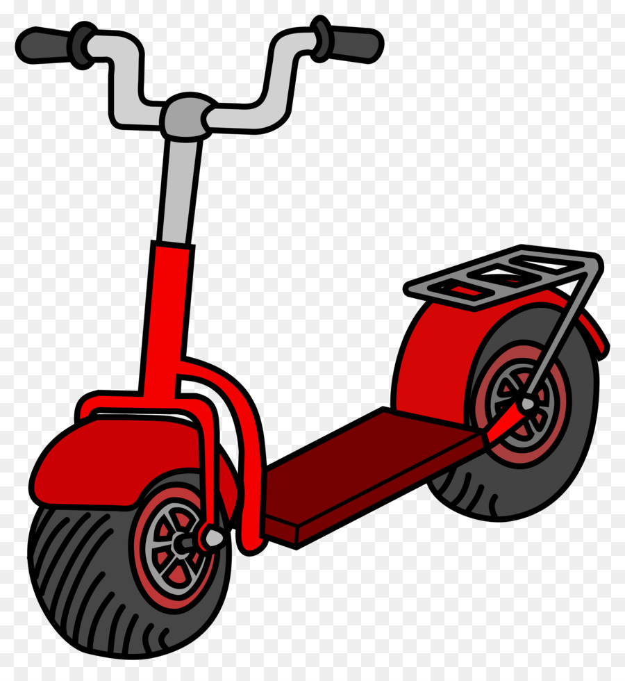 Scooter clipart cartoon. Bicycle motorcycle product