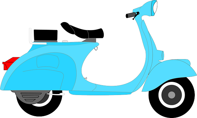 Scooter clipart cute. Free cliparts download clip
