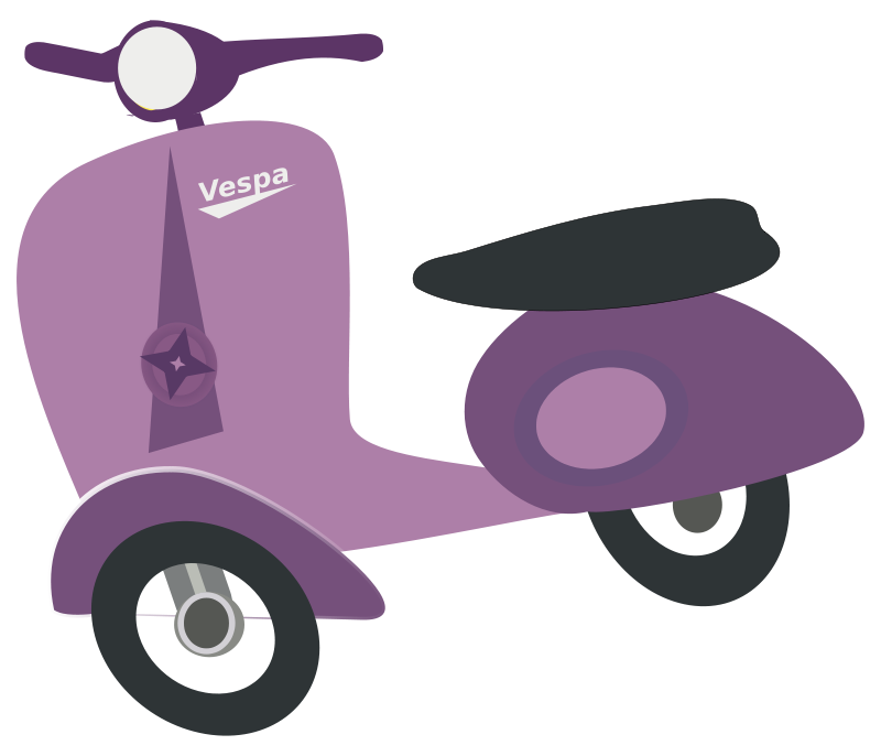 Scooter clipart cute. Vespa desktop backgrounds free