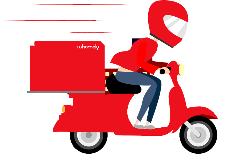Scooter clipart delivery scooter. Zoho books whomely case