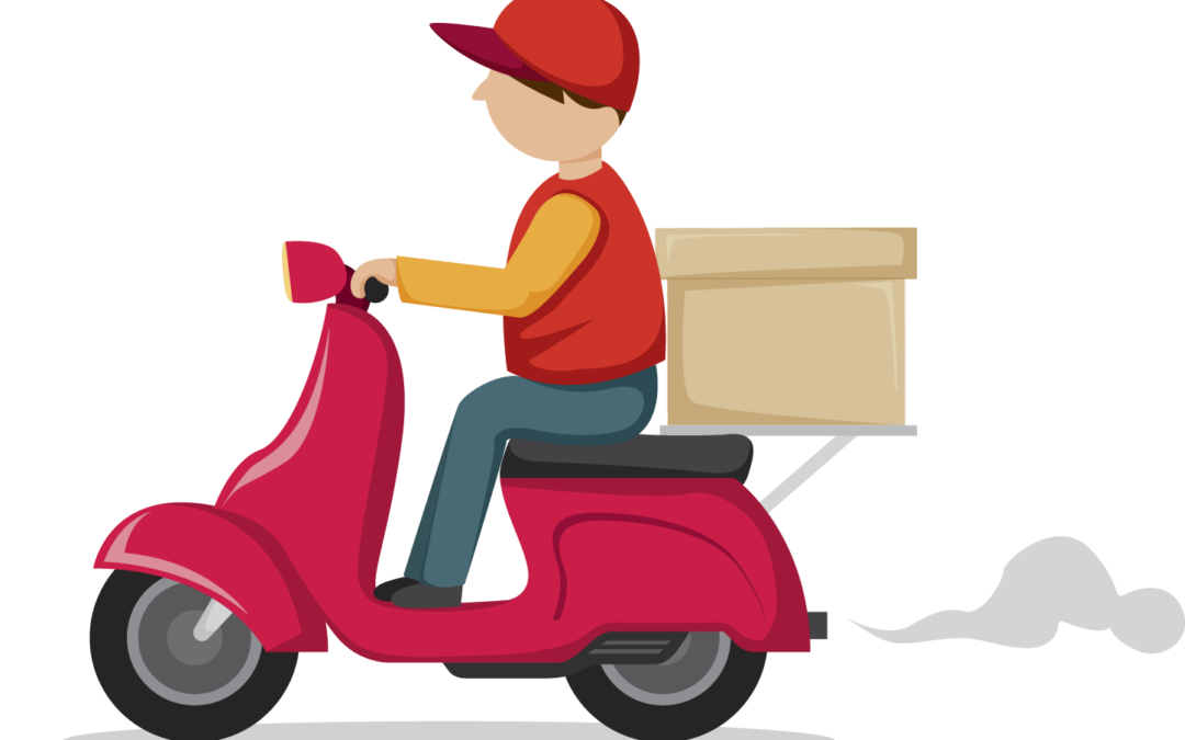 Scooter clipart delivery scooter.  ways to improve