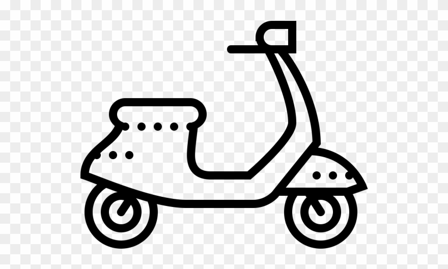 Scooter clipart drawing. Png download pinclipart
