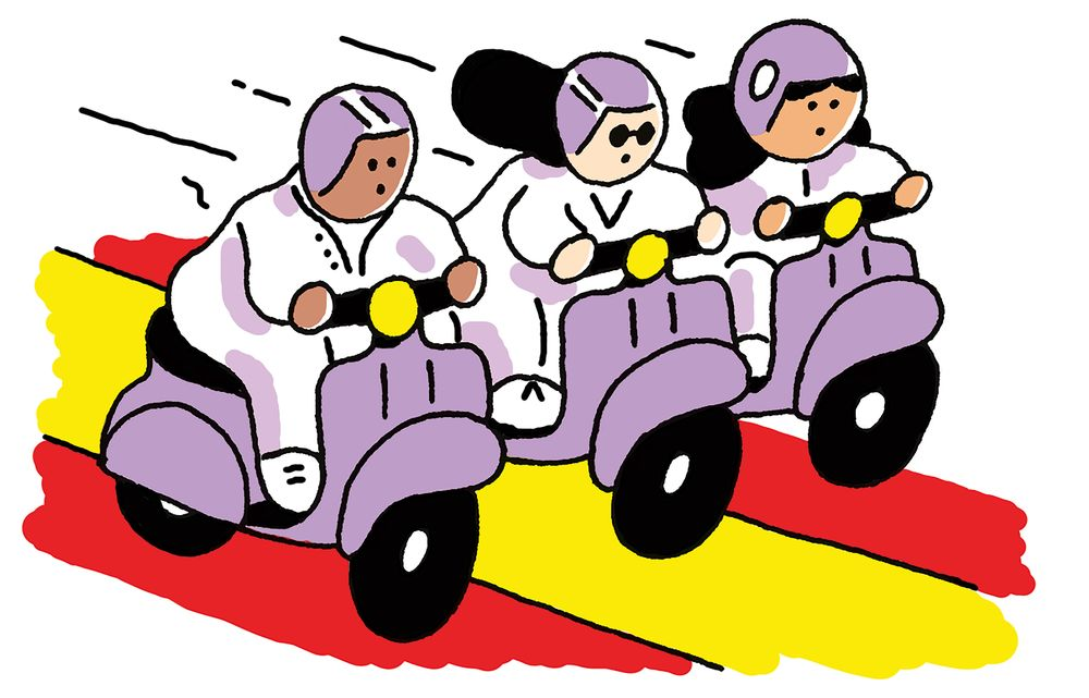Scooter clipart driving school. Madrid is trying out
