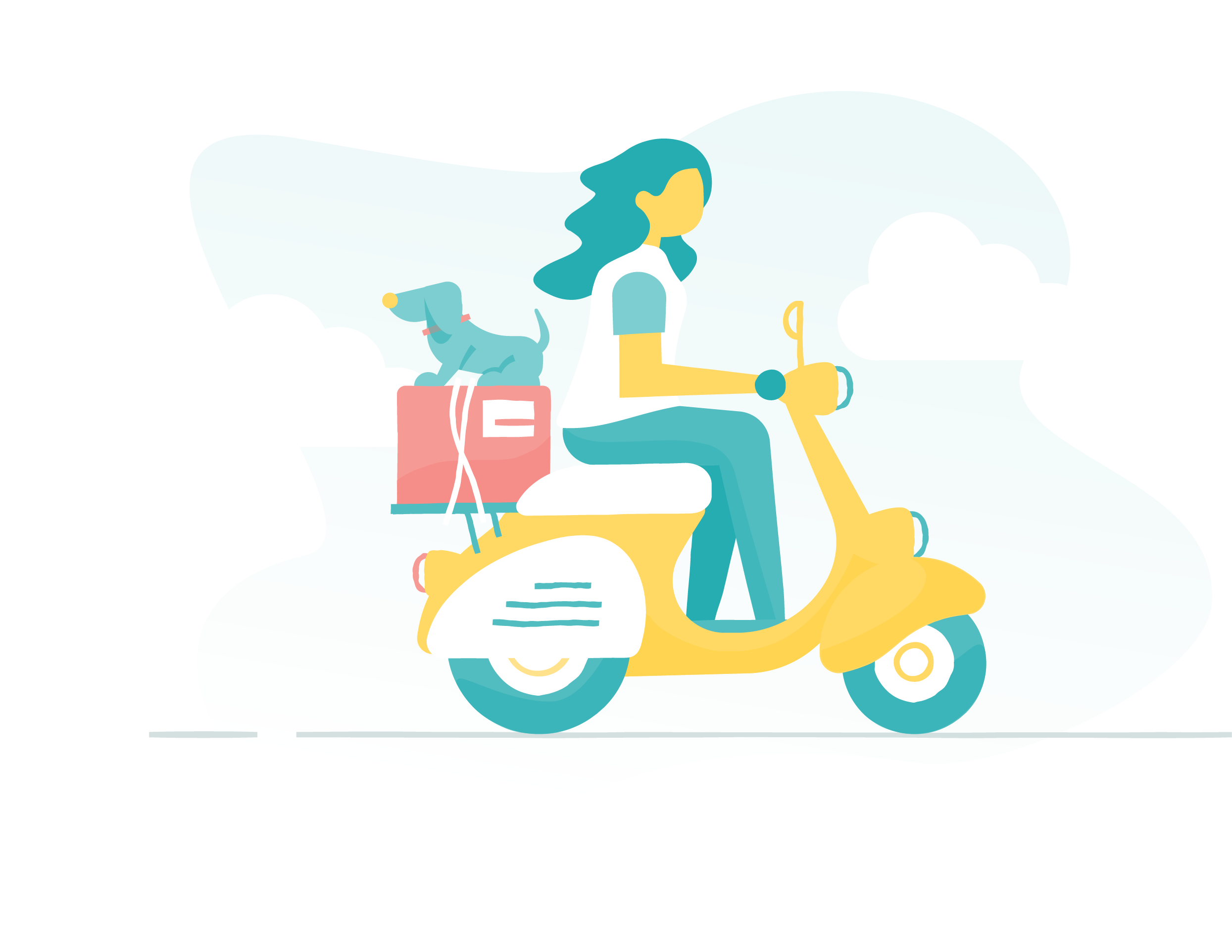 Scooter clipart driving school. Guides subscription box shipping