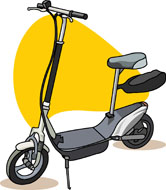 Scooter clipart electric scooter. Search results for clip