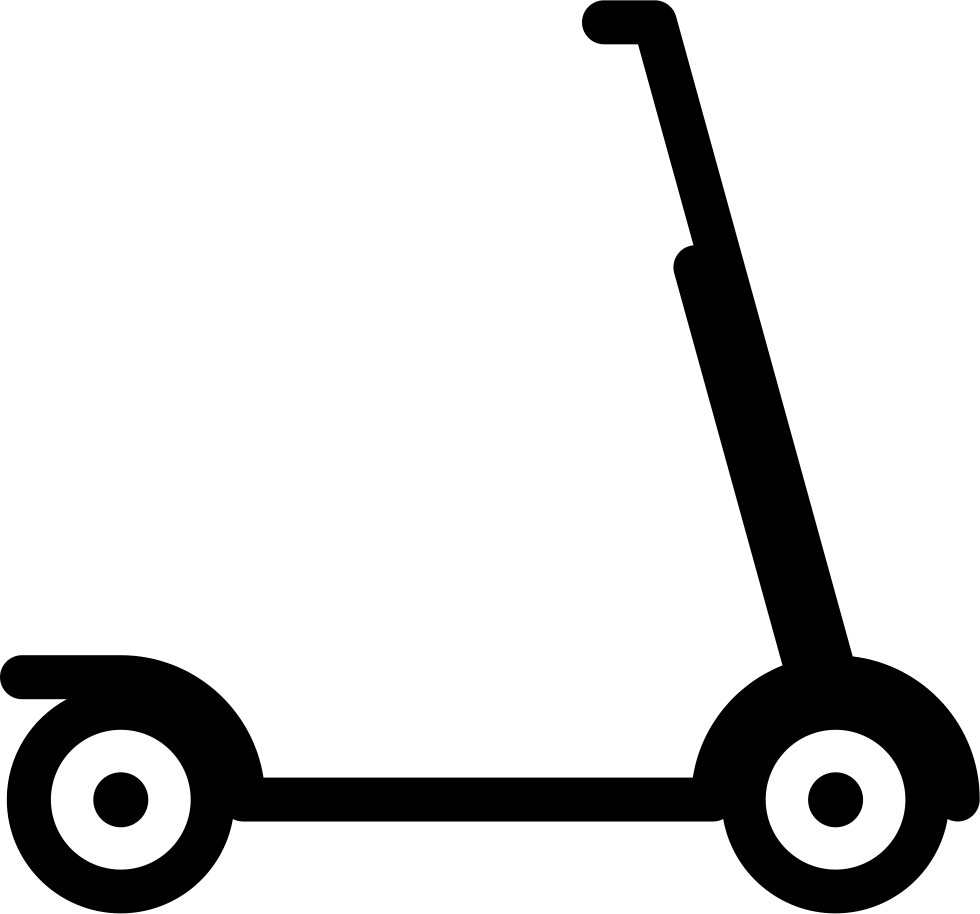 Scooter clipart kick scooter. Svg png icon free