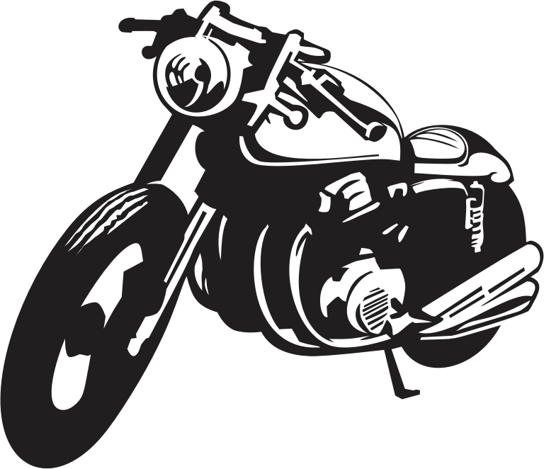 Public notice vehicle registration. Scooter clipart motorcycle
