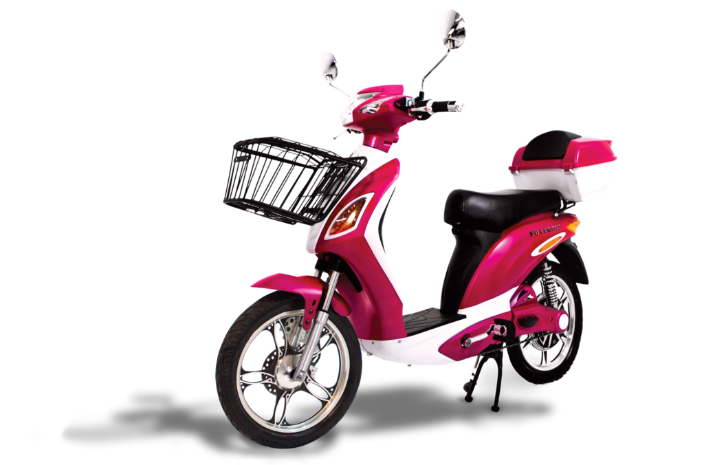 Scooter clipart pink scooter. Superfly electric bike w