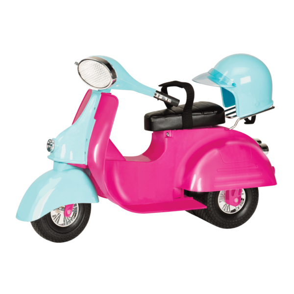 Scooter clipart pink scooter. Our generation dolls httpswwwogdollscomwpcontentuploadsbdscootermainxpng