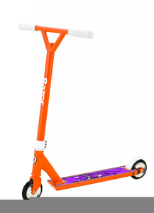 Scooter clipart razor scooter. Free images at clker