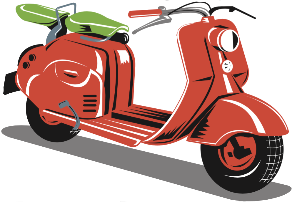 Welcome to nwascooter com. Scooter clipart red scooter
