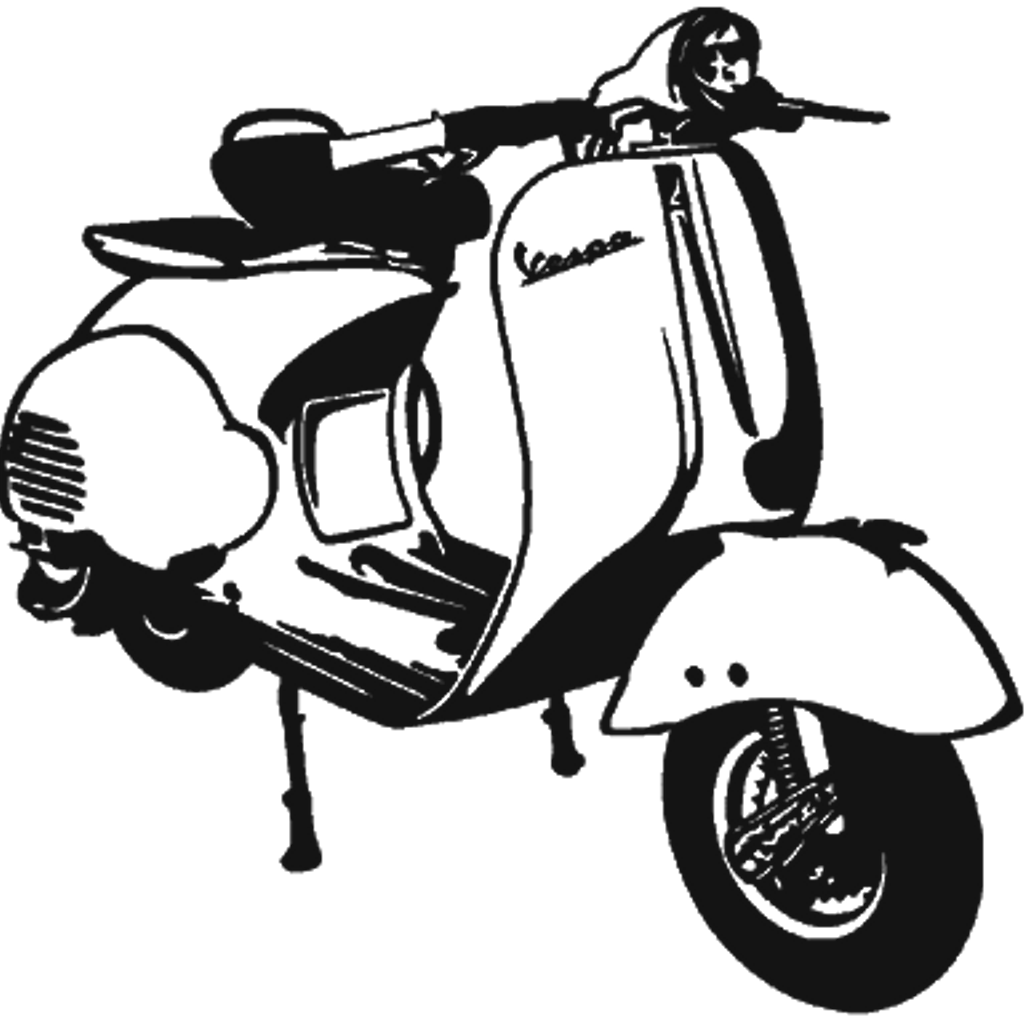Scooter clipart scooter line. Freetoedit sticker by rv