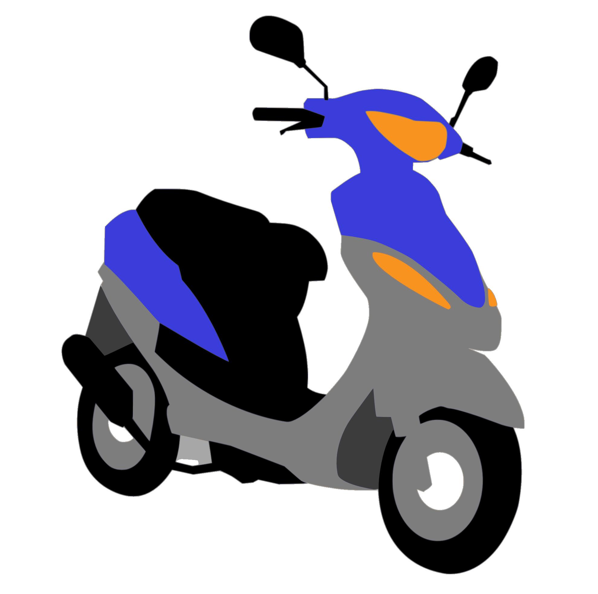 Scooter clipart scotter. Clipartist net clip art