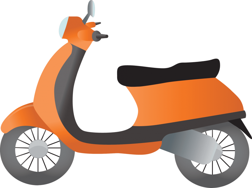 Png free images toppng. Scooter clipart scotter