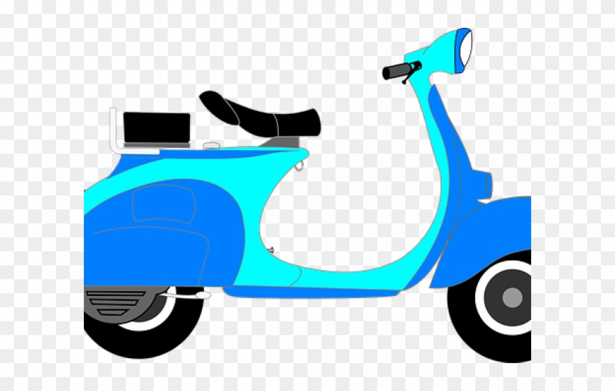 Moped png download . Scooter clipart scotter