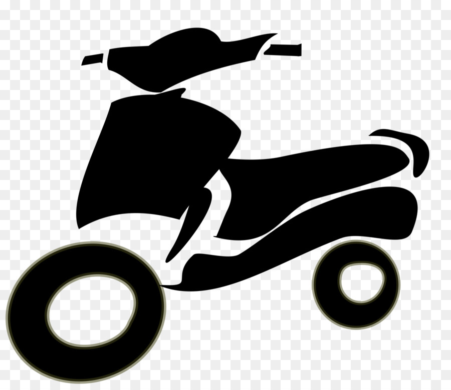 White background motorcycle transparent. Scooter clipart two wheeler