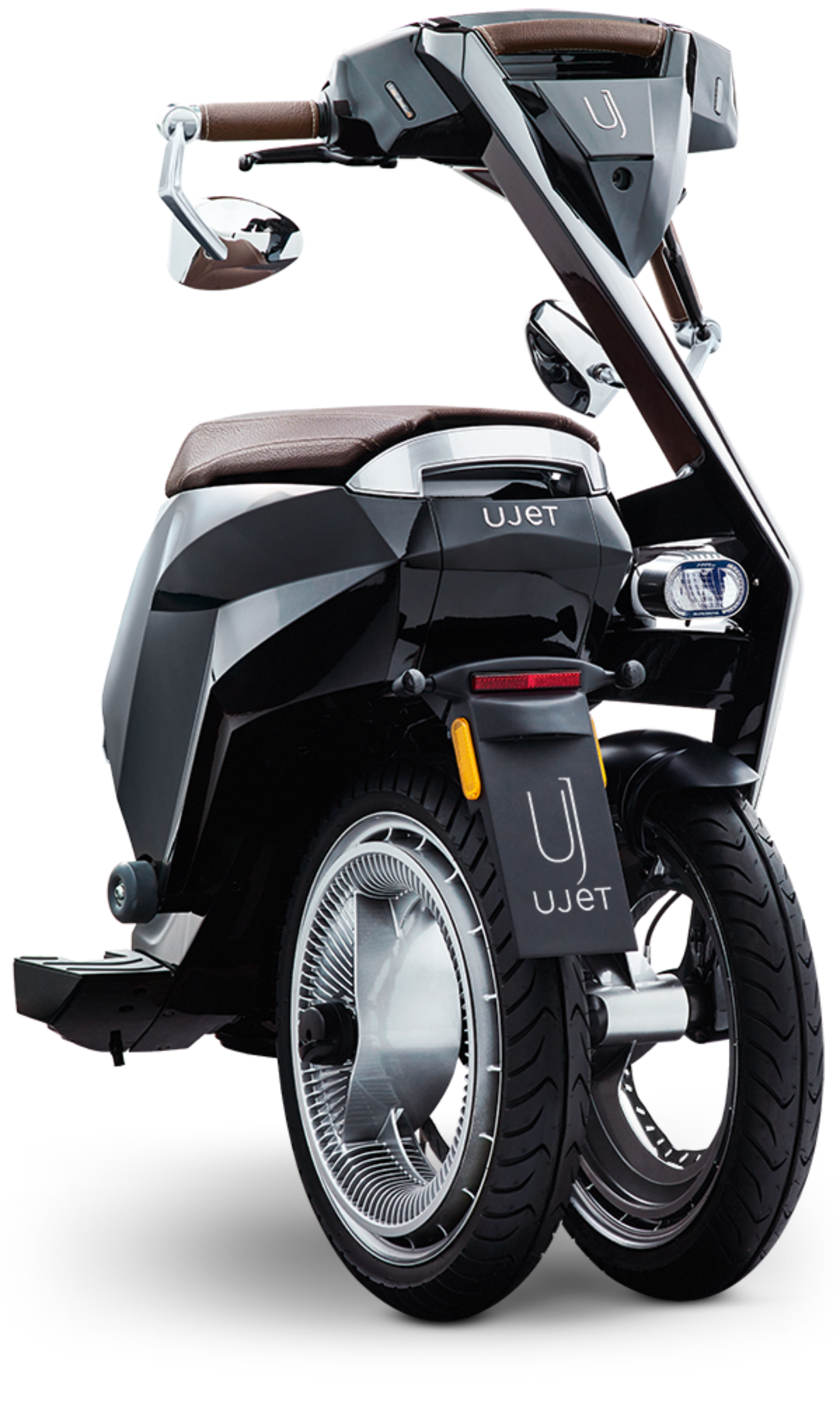 High tech connected electric. Scooter clipart two wheeler