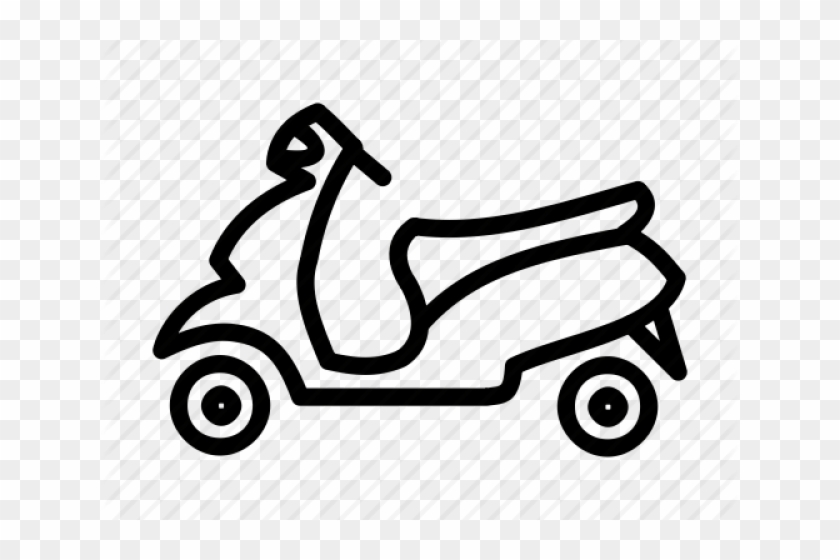 Illustration hd png download. Scooter clipart two wheeler