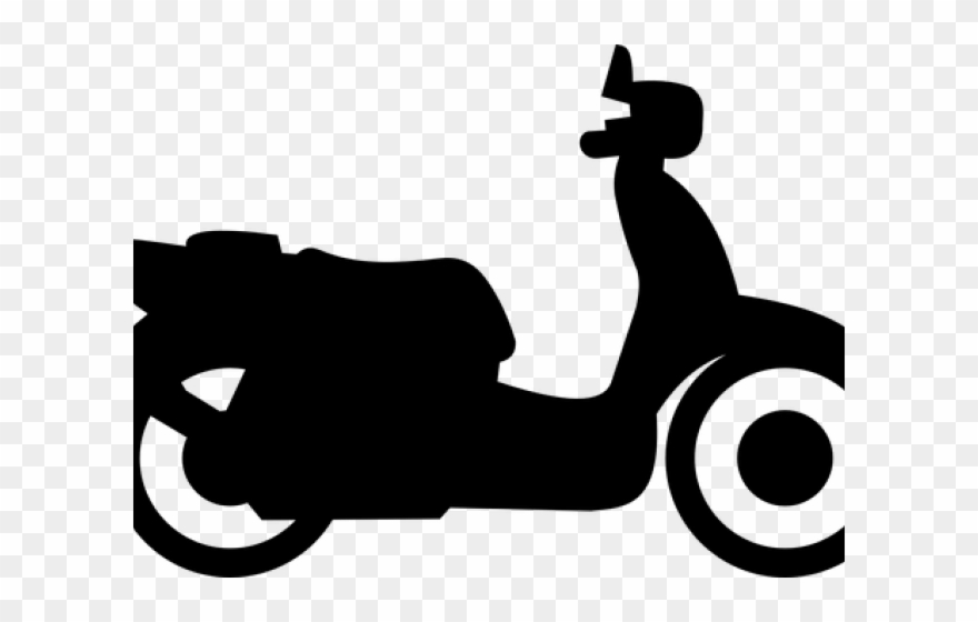 Scooter clipart two wheeler. Clip art png