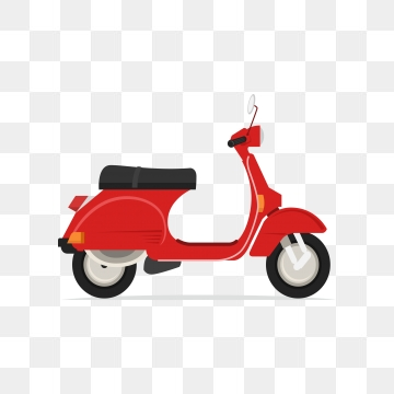 Scooter clipart vector. Png psd and with