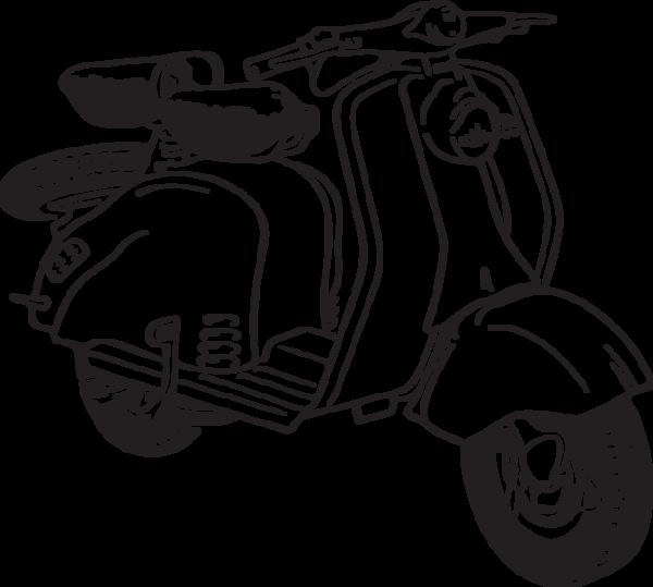 Scooter clipart vector.  ra clip art