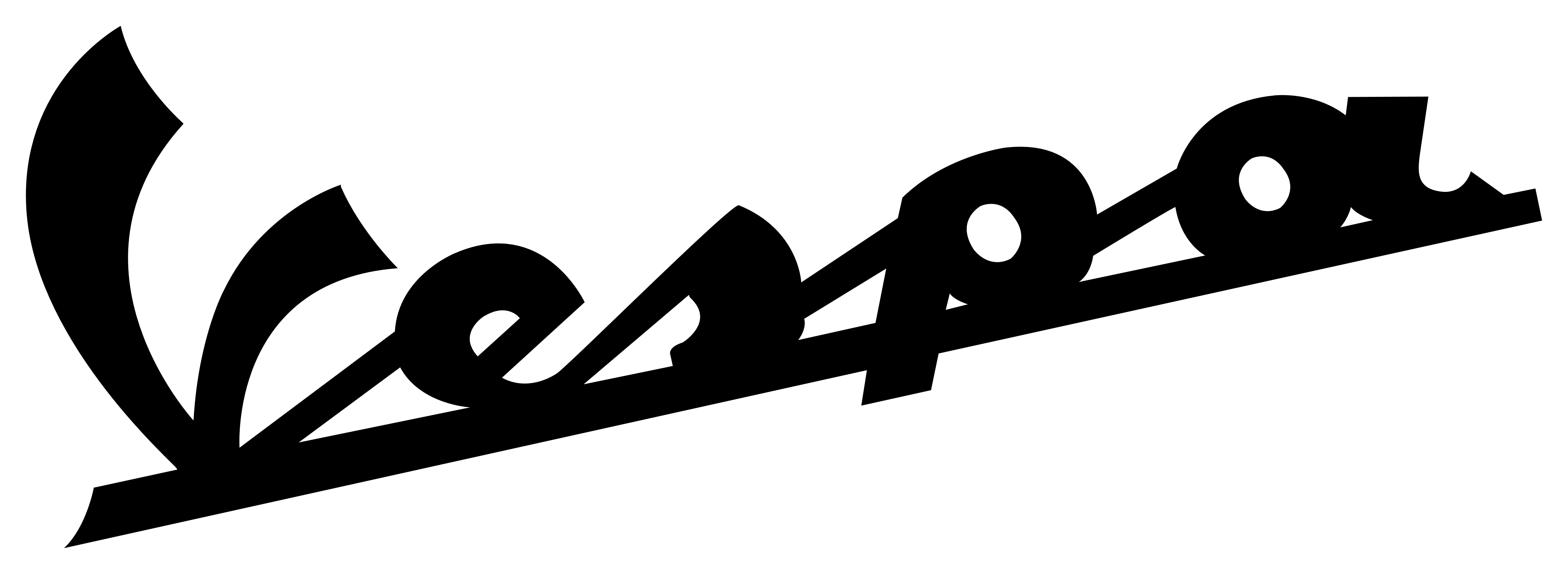 Logo black png pinterest. Scooter clipart vespa italian