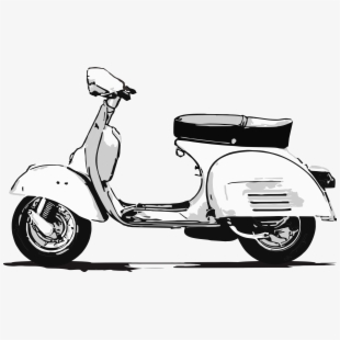 Scooter clipart vespa italian. This png file is