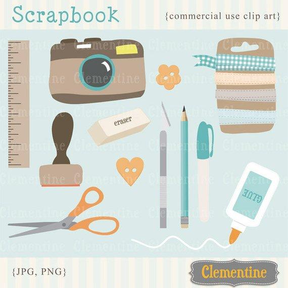 Scrapbook clipart. Clip art camera images