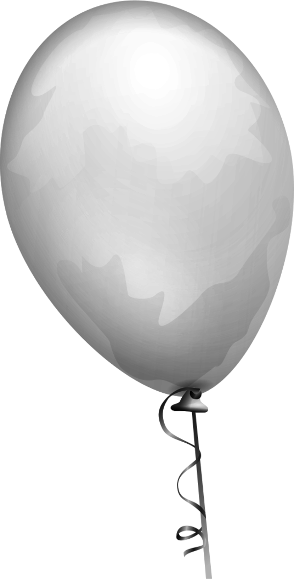 Gray . Scrapbook clipart balloon
