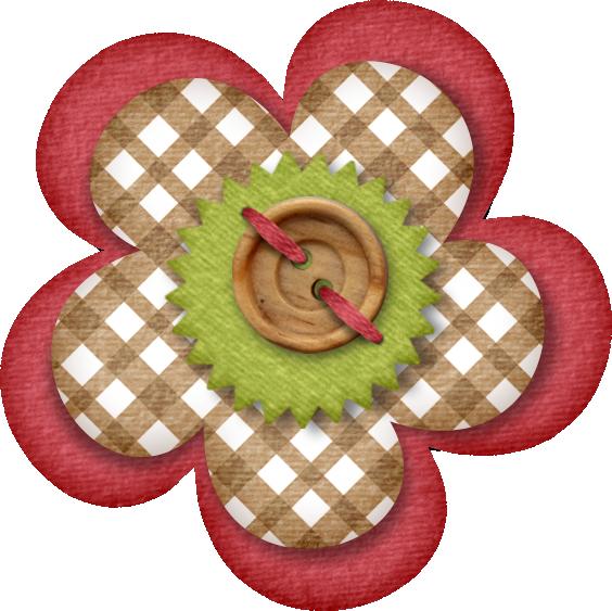 Scrapbook clipart button. Lliella lmcart flower png