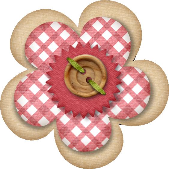 Lliella lmcart flower png. Scrapbook clipart button