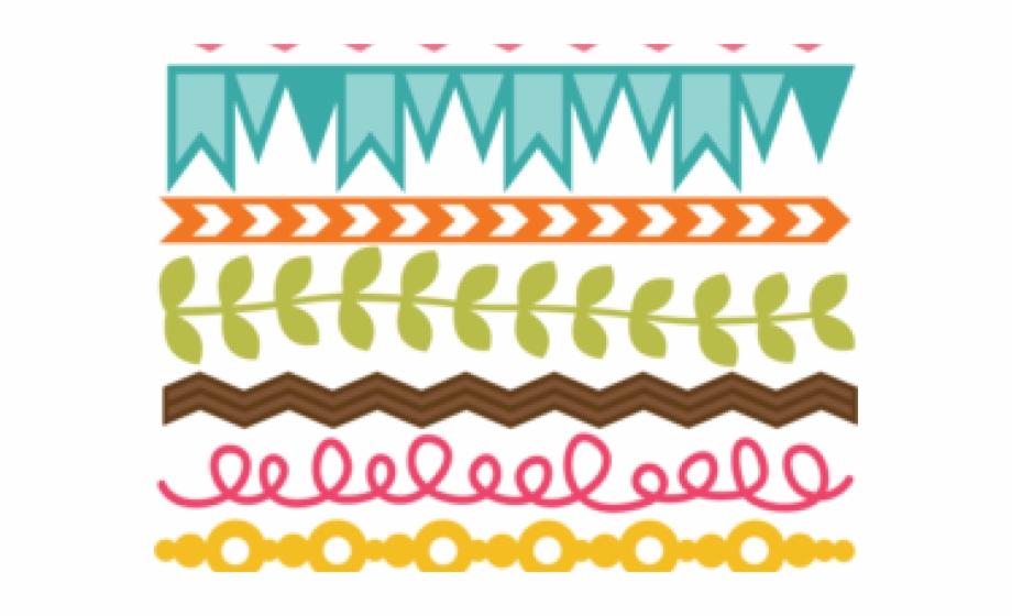 Scrapbook clipart scrapbook design. Season cute border designs