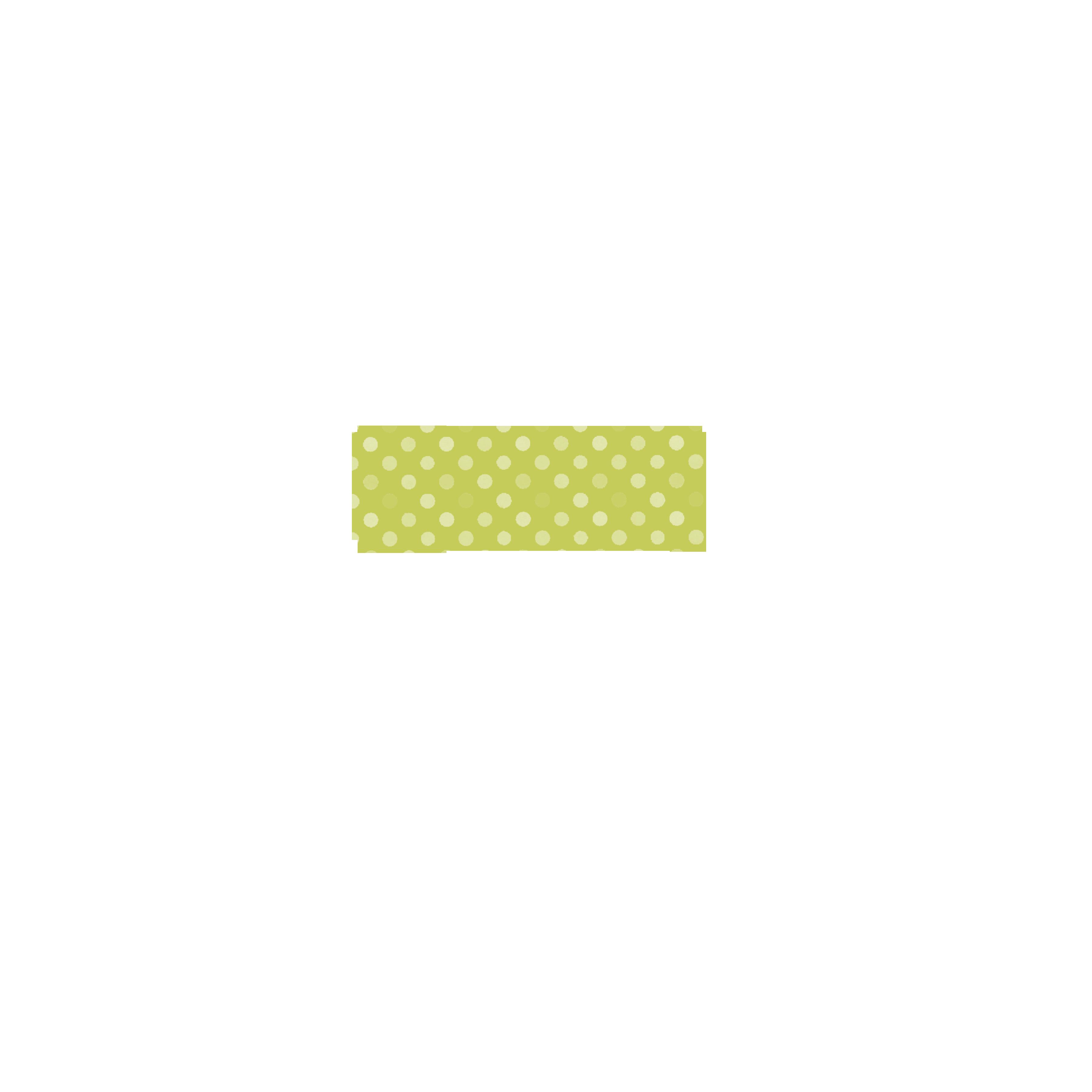 Green freebie washi etiquetas. Scrapbook clipart tape