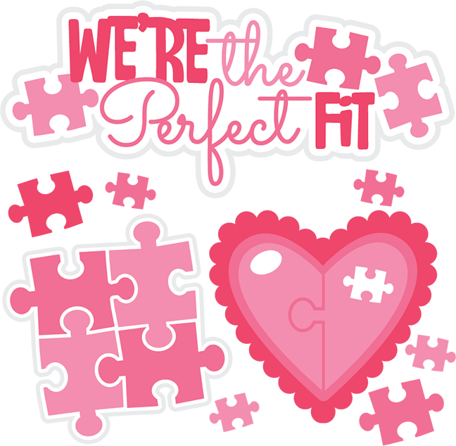 Scrapbook clipart valentine. We re the perfect
