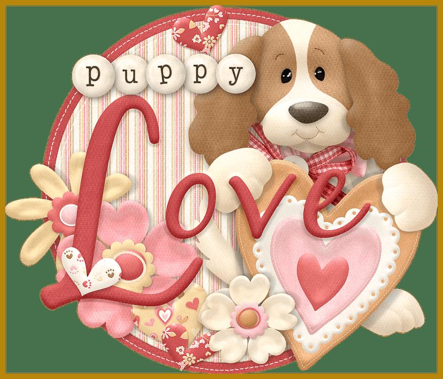 Scrapbook clipart valentine. The best wordart puppylove