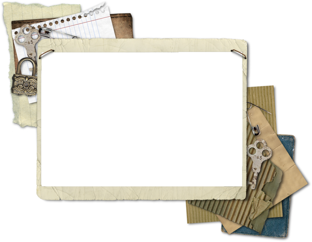 Vintage cluster by hggraphicdesigns. Scrapbook frame png
