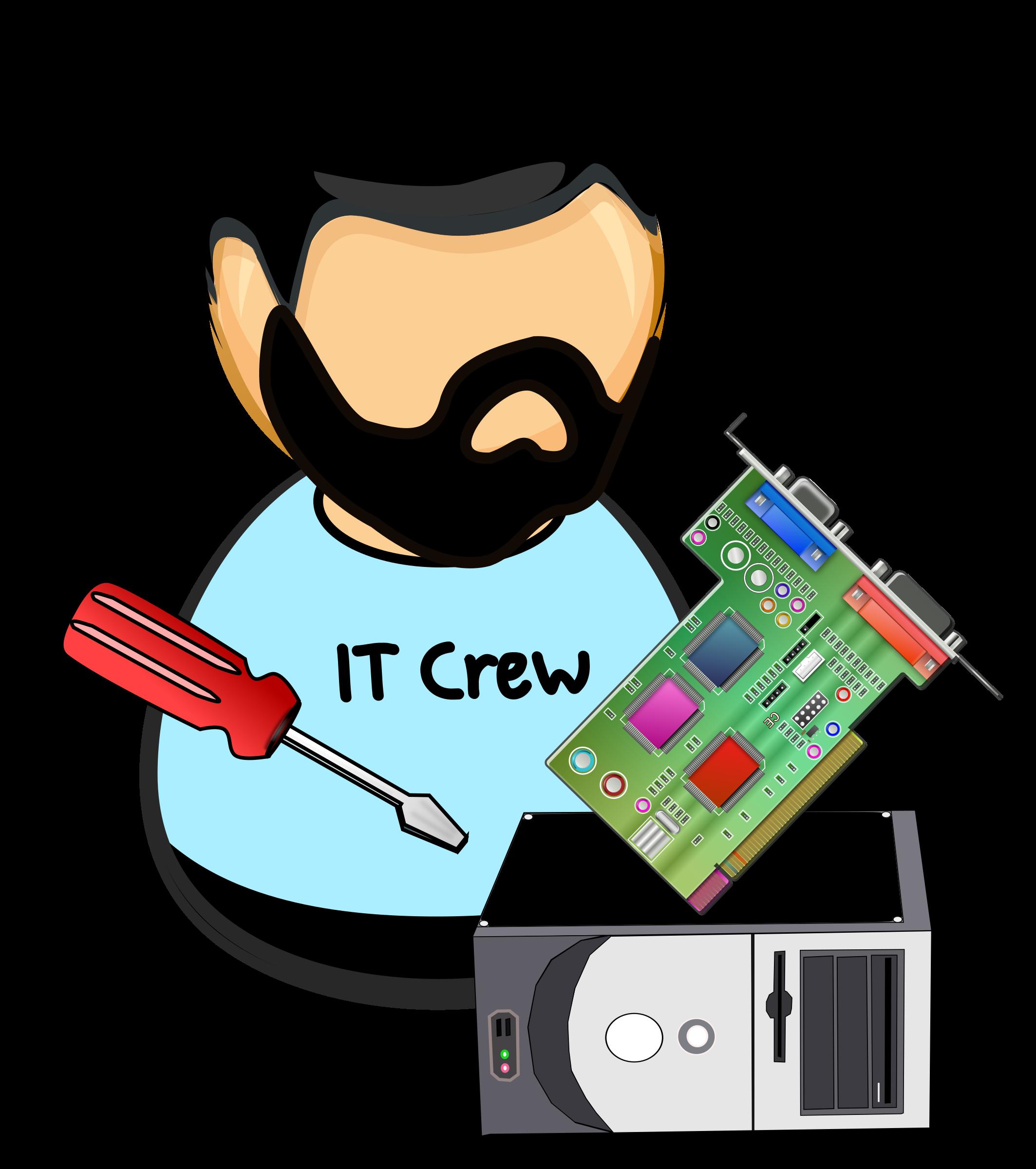 Screwdriver clipart cartoon. Hardware technician big image